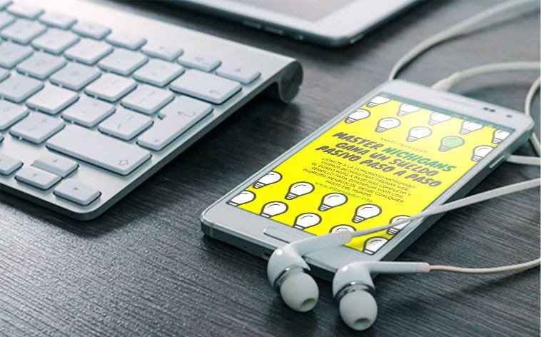 Master Curso Online Nichigans gana un sueldo pasivo paso a paso www.elpensador.info Santiago Alvarez en iPhone